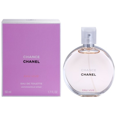 Chanel Chance Eau Vive Eau de Toilette for Women