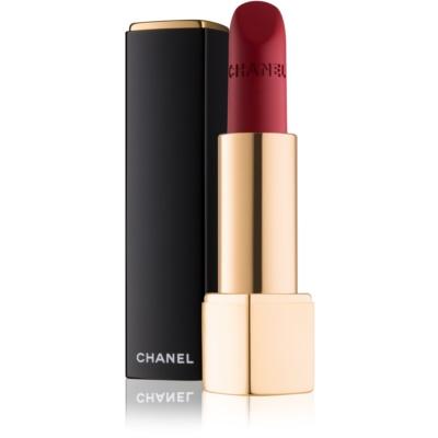 Chanel Rouge Allure Velvet rouge à lèvres velouté effet mat