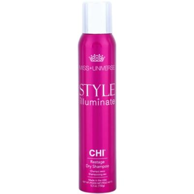 suchý šampon pro absorpci přebytečného mazu a pro osvěžení vlasů