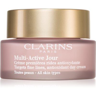 Clarins Multi-Active антиоксидантний денний крем проти перших ознак старіння шкіри