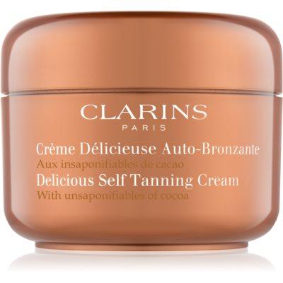 samoopalovací krém na tělo a obličej s kakaovým máslem