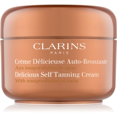 Delicious Self Tanning Cream with Unsaponifiables of Cocoa