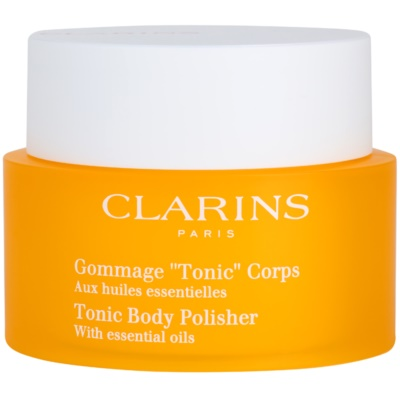 Clarins Body Exfoliating Care esfoliante corporal reafirmante com óleos essenciais