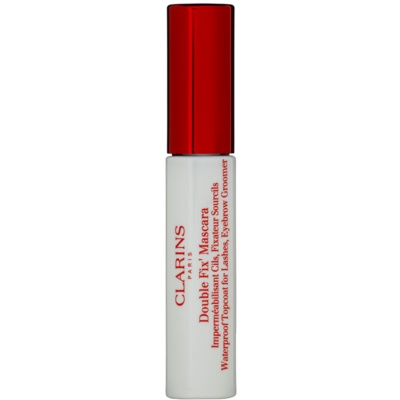Clarins Eye Make-Up Double Fix' fijador resistente al agua  para pestañas y cejas