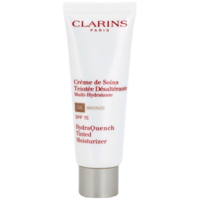 Clarins HydraQuench gyengéd tonizáló krém hidratáló hatással SPF15