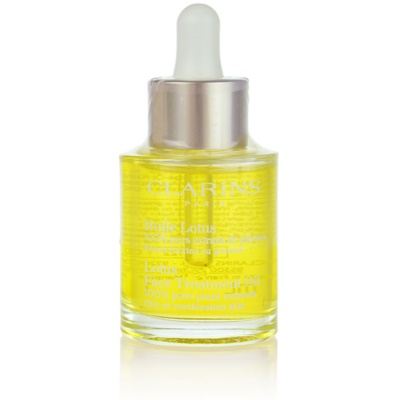 Clarins Rebalancing Care Lotus Face Treatment Oil for Oily or Combination Skin