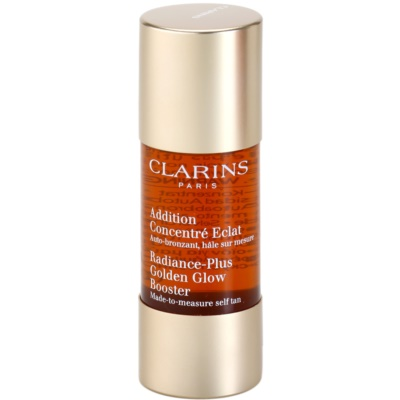 Clarins Sun Self-Tanners samoopalovací kapky na obličej