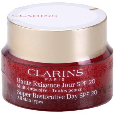 creme diário antirrugas com efeito liftting para todos os tipos de pele SPF 20