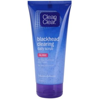 peeling oczyszczający  przeciw zaskórnikom