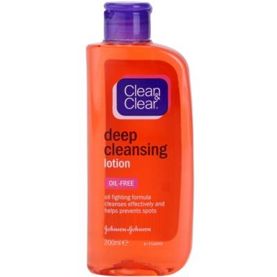 mélyen tisztító arcápoló víz