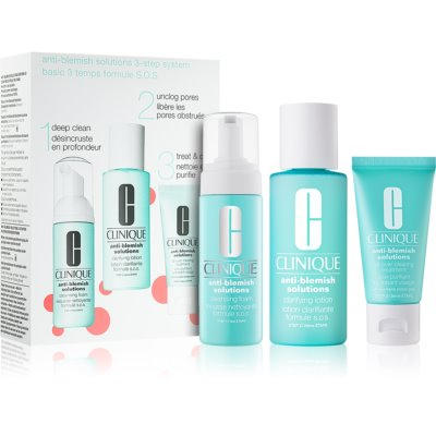 Clinique Anti-Blemish Solutions καλλυντικό σετ I.