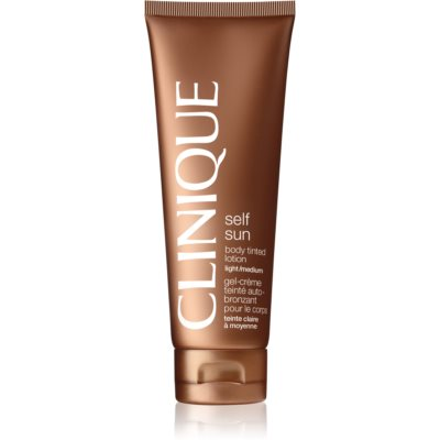 Clinique Self Sun leche autobronceadora corporal