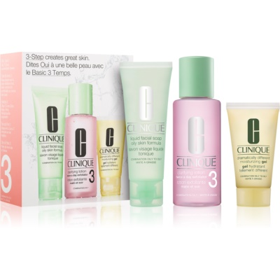Clinique 3 Steps lote cosmético VII.