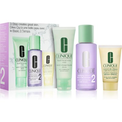 Clinique 3 Steps kit de viagem VI.
