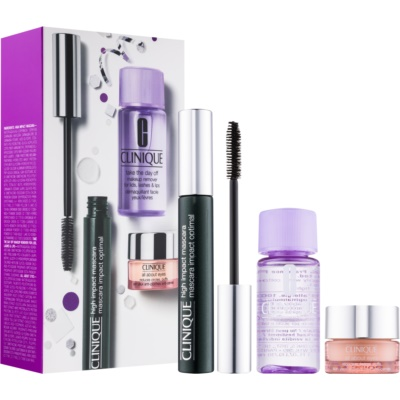 Clinique High Impact lote cosmético IV.
