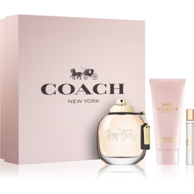 Coach Coach подарунковий набір IV. Парфумована вода 90 ml + Молочко для тіла 100 ml + Парфумована вода 7,5 ml