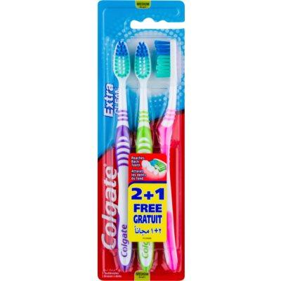 Colgate Extra Clean Medium Tandenborstel  3st.