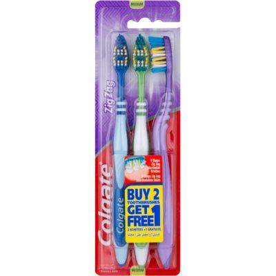 zobne ščetke medium 3 kos
