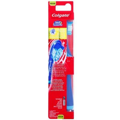 escova de dentes vibratória com bateria medium