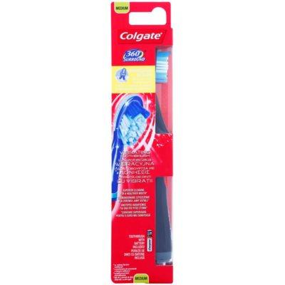 Colgate 360° Surround brosse à dents vibrante à piles medium