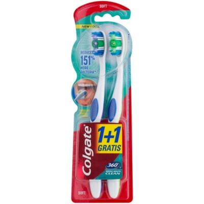 zubné kefky soft 2 ks