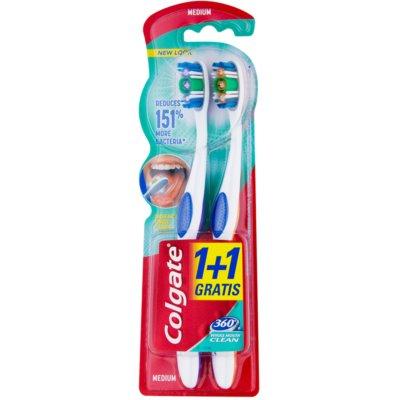 zubné kefky medium 2 ks