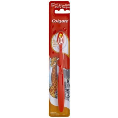 Colgate Kids 2+ Years escova de dentes para crianças extra suave