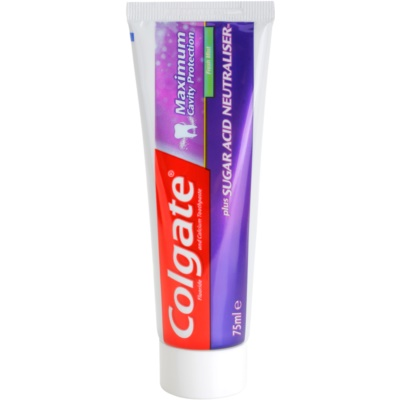 Colgate Maximum Cavity Protection Plus Sugar Acid Neutraliser dentífrico