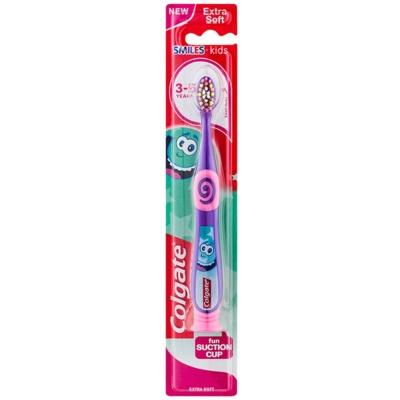 Colgate Smiles Kids zobna ščetka s prisesko za otroke ekstra soft