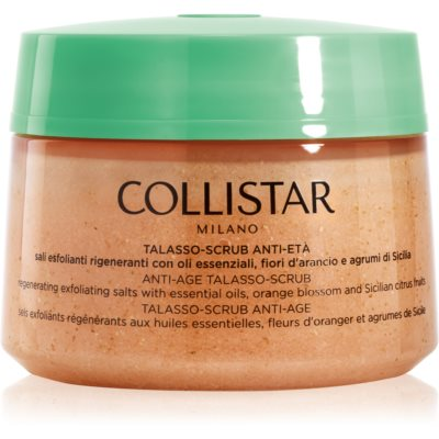 Collistar Special Perfect Body Regenerating Exfoliating Salts Anti Aging Skin