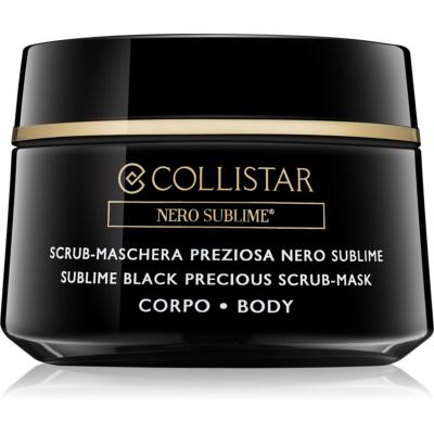 Collistar Nero Sublime® maska peelingująca do ciała