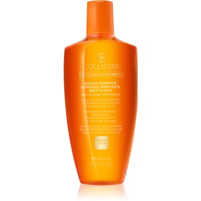 Collistar After Sun Douche Shampoo  Verlengd de Bruining