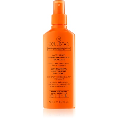 Collistar Sun Protection latte abbronzante in spray SPF 6