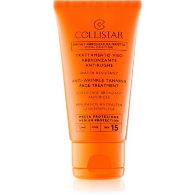 crème solaire anti-vieillissement SPF15