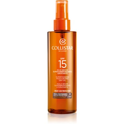 Collistar Sun Protection óleo solar SPF 15