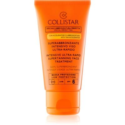 Collistar Sun Protection crema abbronzante viso SPF 6