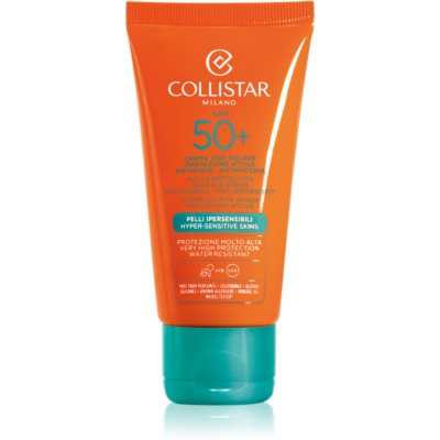 Collistar Sun Protection creme solar antirrugas SPF 50+