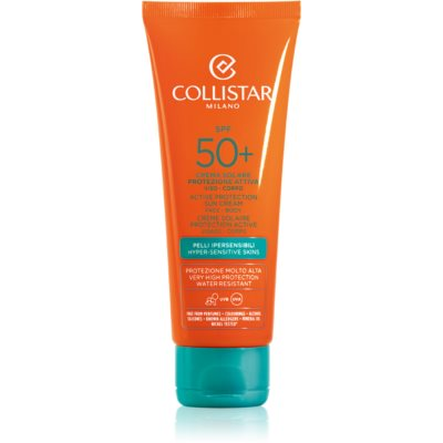Collistar Sun Protection ochronny krem do opalania SPF 50+