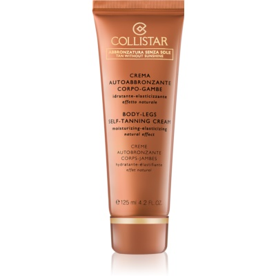 Collistar Tan Without Sunshine Self-Tanning Cream for Body and Legs