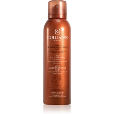 Collistar Self Tanners spray auto-bronzant
