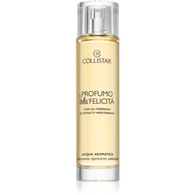 Collistar Benessere Della Felicitá Aromatic Body Water With Essential Oils And Mediterranean Extracts