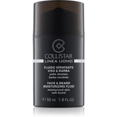 Collistar Man хидратиращ флуид за зоната на лицето и брадата
