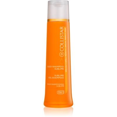 олійка-шампунь для блиску та шовковистості волосся