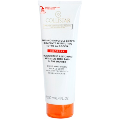 Collistar After Sun Moisturizing Restoring Body Balm in the Shower