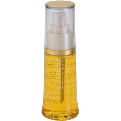rozjasňující tekuté krystaly pro lesk suchých a křehkých vlasů