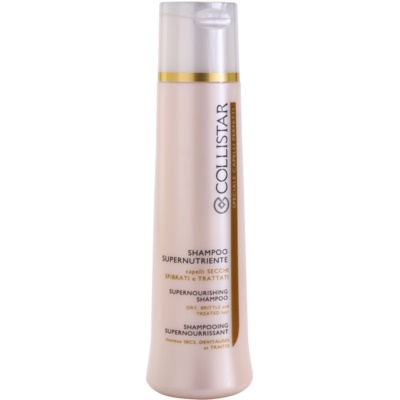 vyživující šampon pro suché a křehké vlasy