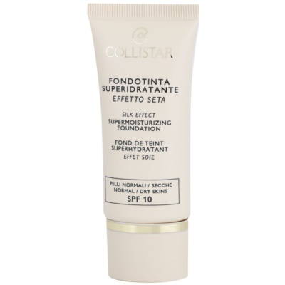 Collistar Foundation Supermoisturizing fondotinta idratante SPF 10