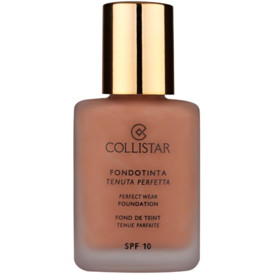 Collistar Foundation Perfect Wear wasserfestes Flüssig-Make up SPF 10