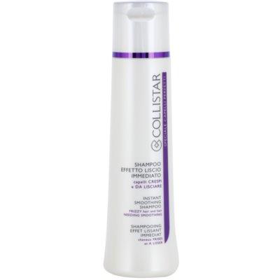 šampon pro uhlazení poletujících a krepatých vlasů