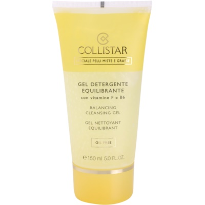 Collistar Special Combination And Oily Skins gel limpiador con vitamina F y B6